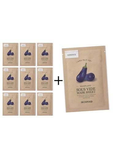 Skinfood  Eggplant Sous Vide 10 Lu Avantaj Paketi Renksiz